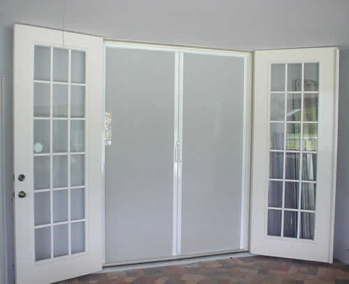 Retractable doors retractable screen doors for What is the best retractable screen door